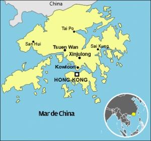 Mapa Hong Kong ok
